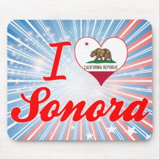 Amo el Sonora, California Tapete De Ratones