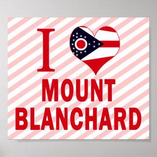 Amo el soporte Blanchard, Ohio Poster