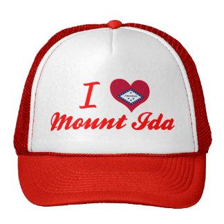 Amo el soporte Ida, Arkansas Gorras