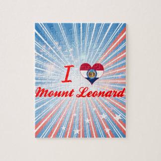 Amo el soporte Leonard Missouri Rompecabeza Con Fotos