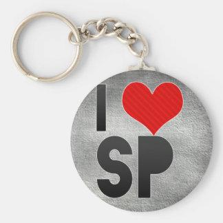 Amo el SP Llaveros Personalizados