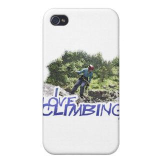 Amo el subir del perro de la caída iPhone 4/4S carcasa