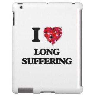 Amo el sufrimiento largo funda para iPad