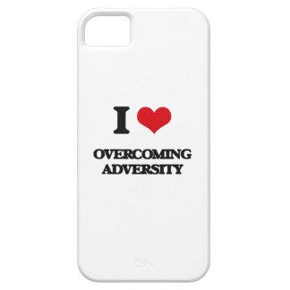 Amo el superar de adversidad iPhone 5 Case-Mate cárcasas