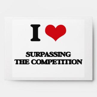 Amo el superar de la competencia