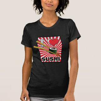 ¡Amo el sushi! Playera
