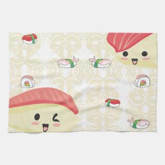 Amo el sushi TeaTowels Toallas De Mano