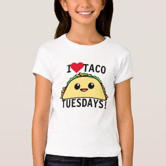 Amo el Taco martes Playera
