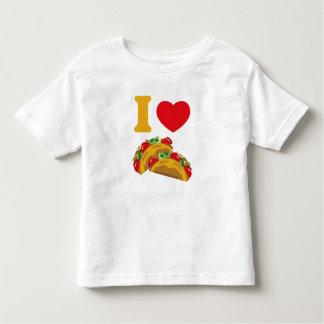 Amo el Tacos Playera De Bebé