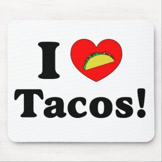 Amo el Tacos Tapetes De Ratones