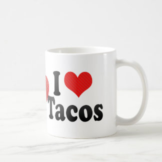 Amo el Tacos Tazas De Café