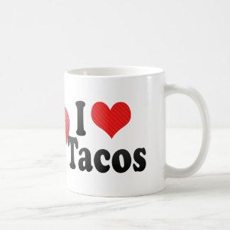 Amo el Tacos Taza Clásica