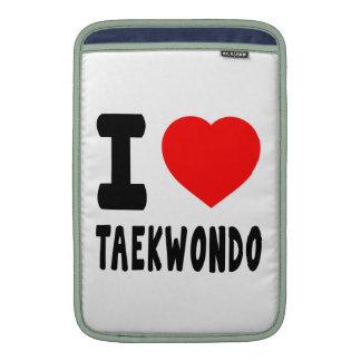 Amo el Taekwondo Funda Macbook Air