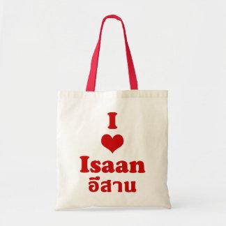 Amo el ❤ Tailandia de Isaan Bolsa Tela Barata