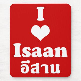 Amo el ❤ Tailandia de Isaan Mouse Pad