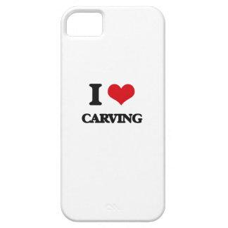Amo el tallar iPhone 5 Case-Mate protectores