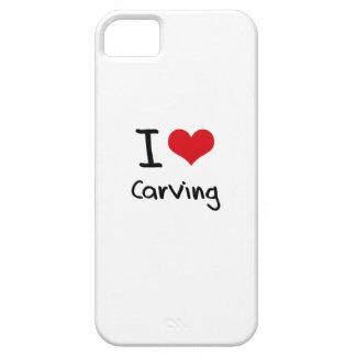 Amo el tallar iPhone 5 cobertura