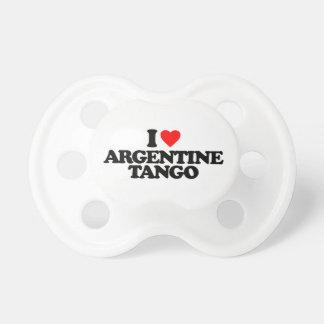 AMO EL TANGO DE ARGENTINA CHUPETES DE BEBE