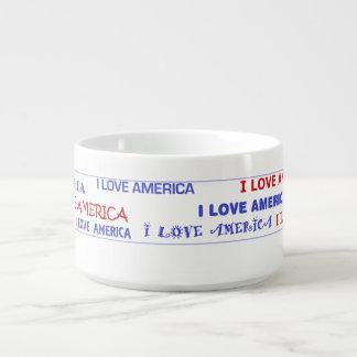 Amo el tazón de América
