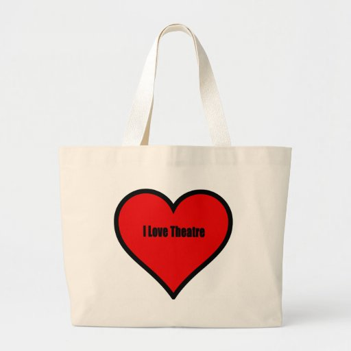 Amo el teatro bolsas
