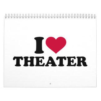 Amo el teatro calendario