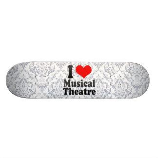 Amo el teatro musical monopatines personalizados