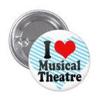 Amo el teatro musical pins
