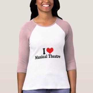 Amo el teatro musical camiseta