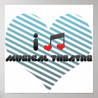 Amo el teatro musical póster