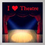 Amo el teatro póster