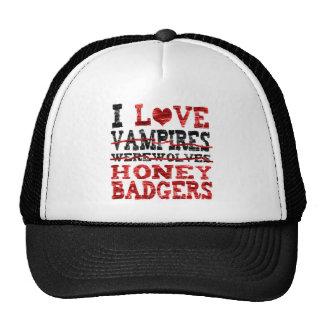 Amo el tejón de miel de los hombres lobos de los v gorras