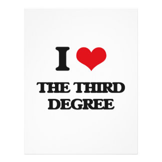 Amo el tercer grado folleto 21,6 x 28 cm