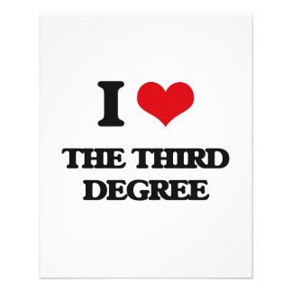 Amo el tercer grado folleto 11,4 x 14,2 cm