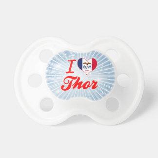Amo el Thor, Iowa Chupetes Para Bebés
