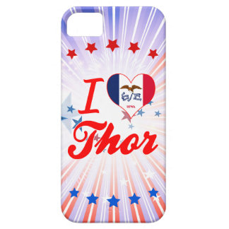 Amo el Thor, Iowa iPhone 5 Case-Mate Fundas
