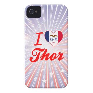 Amo el Thor, Iowa iPhone 4 Fundas