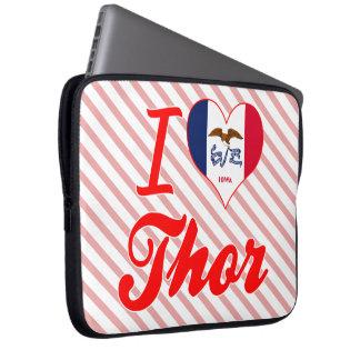 Amo el Thor, Iowa Fundas Computadoras