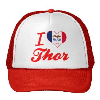Amo el Thor, Iowa Gorros Bordados