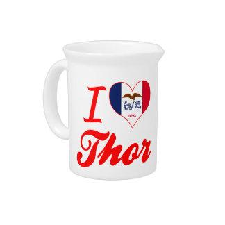 Amo el Thor, Iowa Jarras Para Bebida