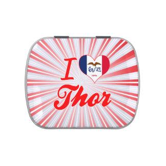Amo el Thor, Iowa Frascos De Dulces