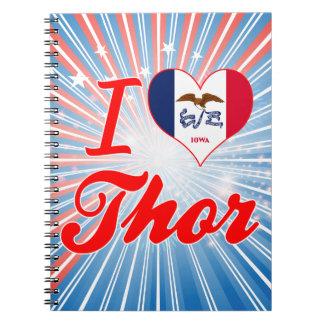 Amo el Thor, Iowa Libretas