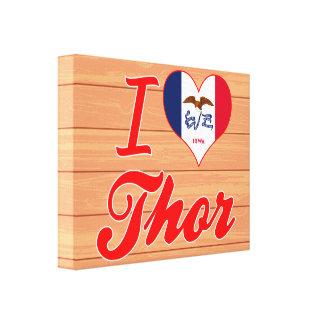 Amo el Thor, Iowa Impresiones En Lona Estiradas