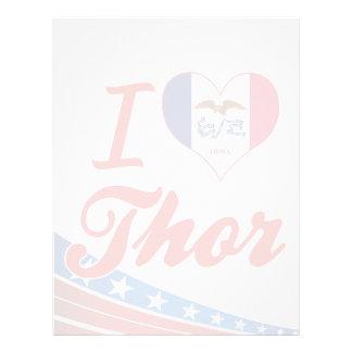 Amo el Thor, Iowa Plantilla De Membrete