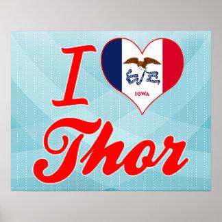 Amo el Thor, Iowa Poster