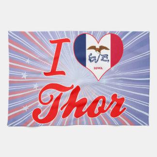 Amo el Thor, Iowa Toallas