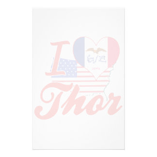 Amo el Thor, Iowa Papeleria Personalizada