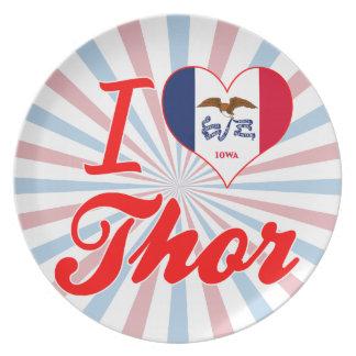 Amo el Thor, Iowa Platos De Comidas
