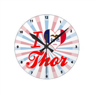 Amo el Thor, Iowa Relojes De Pared