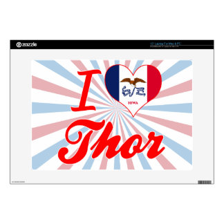 Amo el Thor, Iowa Portátil 38,1cm Skin