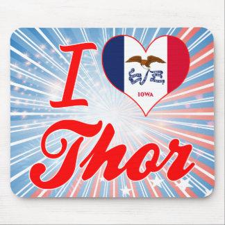 Amo el Thor, Iowa Alfombrillas De Ratón